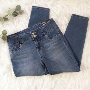 D Jeans highwaist ankle jean petite
